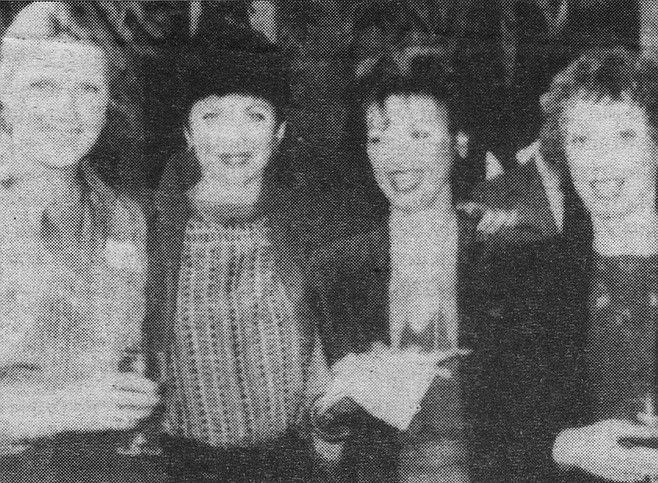 Betty and La Jolla friends