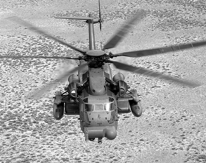 MH-53 helicopter