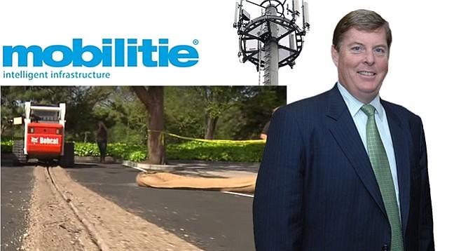 Orange County politico Curt Pringle is making himself known around San Diego city hall.