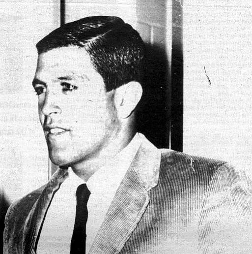 "Butch Van Artsdalen, c. 1962. ""Butch hated quarterbacks."" Several teammates remember Butch wasn't too fond of his own team quarterback, Doug Manchester."