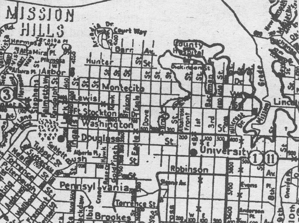 1925 Rodney Stokes map