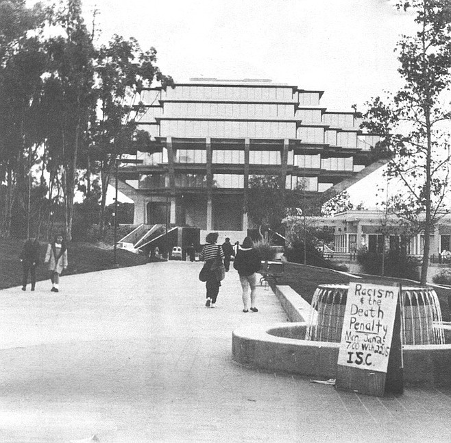 What Price Center: Sorrento Road, now a walkway north of its junction with old Miramar Road