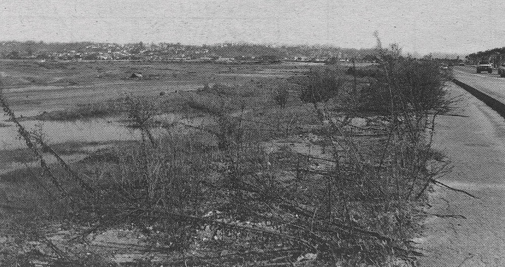 Where Fillmore Street was supposed to be: along Sea World Drive, about a quarter-mile east of Sea World Way