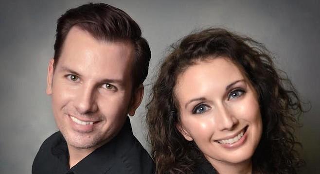 Cory Hibbs and Sarah Le Clair
