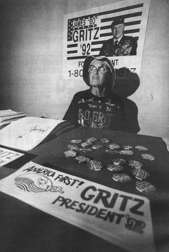 Gritz supporter