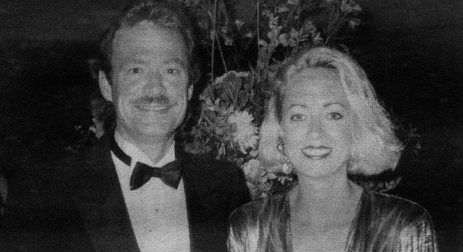 Len and Patte Purcell in 1989