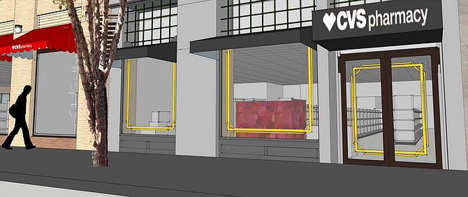 """CVS as viewed from Fifth Avenue: """"quaint, visually interesting, and boutiquey""""?"""