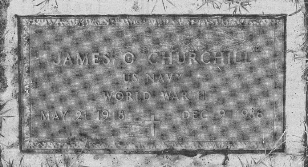 James Churchill's headstone, Mount Hope Cemetery. I couldn't face it—your dying. Later that day a nurse got in touch with me, and asked if you would like to sell any of your organs. I said no, I want you back whole.