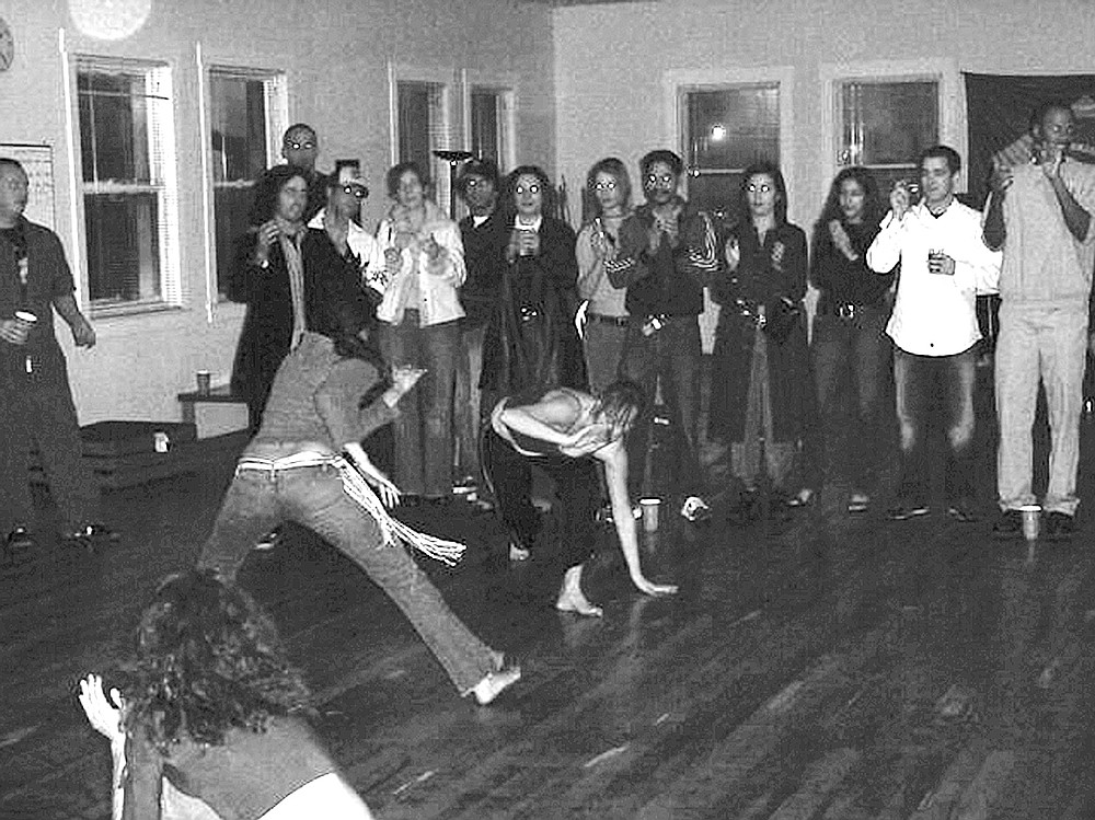 Capoeira dancing on 10th Avenue
