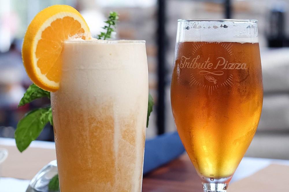 16 beers on tap plus Lyons's homemade sodas