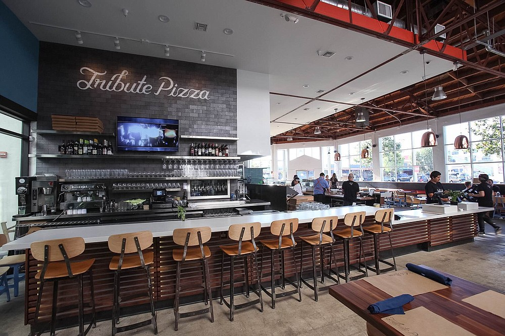Tribute Pizza graduated from pop-up to brick-and-mortar at the renovated North Park Post Office
