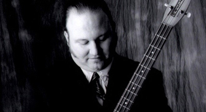 """Tex-Mex bassist/singer Billy Bacon says, """"I can't do the physical, crazy act I used to do, but we still rock."""""""