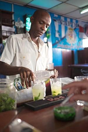 Our favorite bartender.