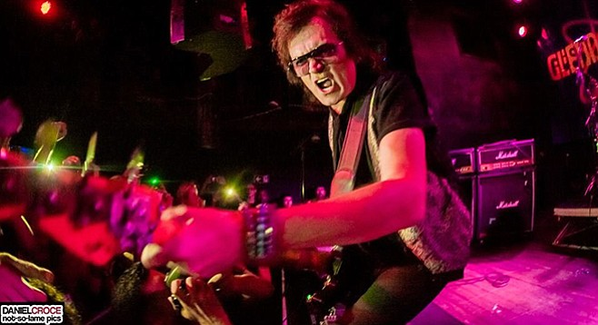 Who does Deep Purple, Stevie Wonder, and Black Sabbath's Tony Iommi all have in common? That would be Glenn Hughes.