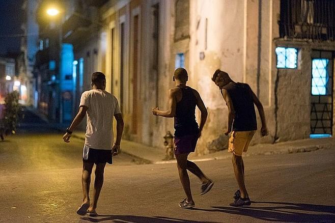 Kids on the street.