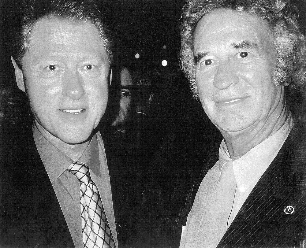 Rich with Bill Clinton