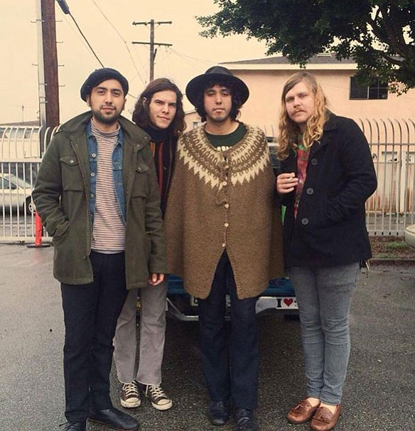 Retro psychedelic-pop four-piece Levitation Room will levitate the room at Hideout Thursday night.