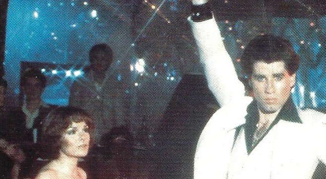 I felt like the women who watched Travolta dance in Saturday Night Fever