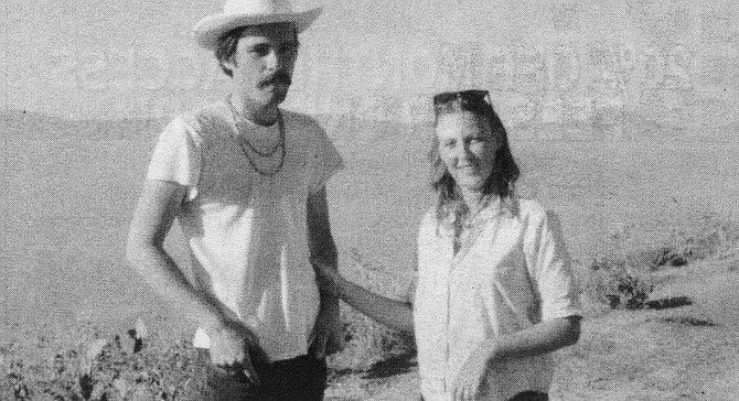 The author with then-wife Laura,  1968