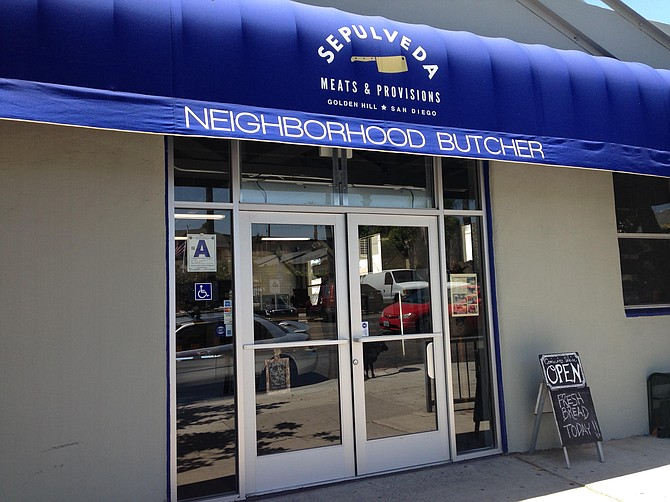 Golden Hill now has a neighborhood butcher to complement the carnicerias.