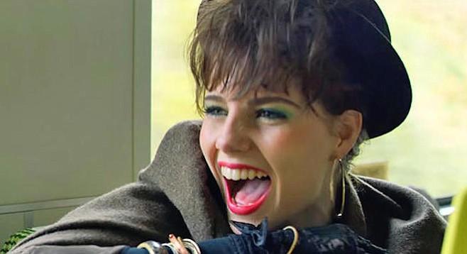 Lucy Boynton stars in Sing Street