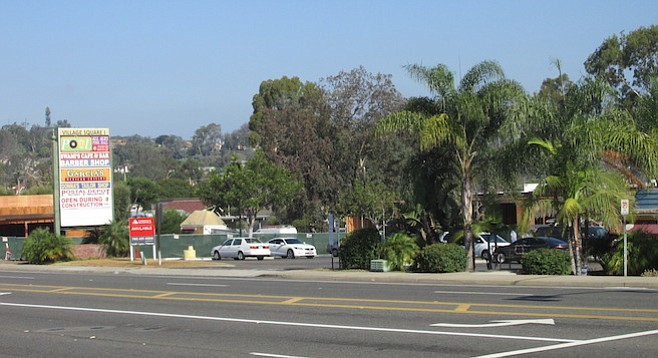 """Consider this the """"before"""" Encinitas Village photo"""