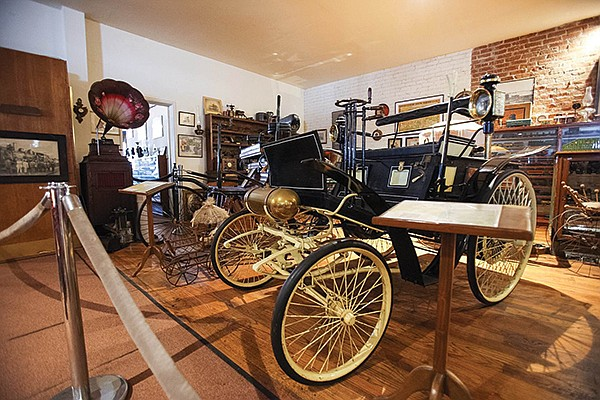 This 1895 Benz Velocipede, or Velo, is San Diego's oldest car.