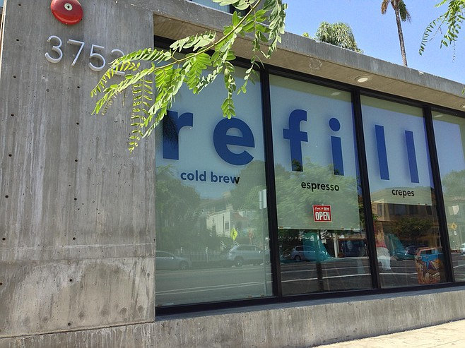 Urban infill design yields a new coffee shop in Hillcrest