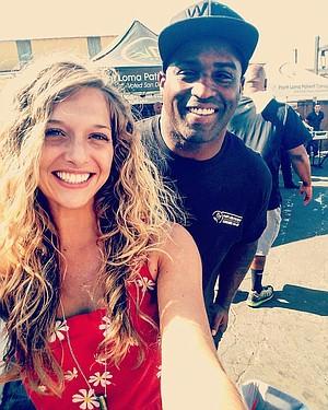 Hannah Grace Steria and Ricky Williams