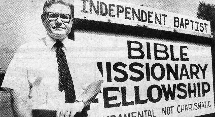 Reverend Dorman Owens in May, 1984