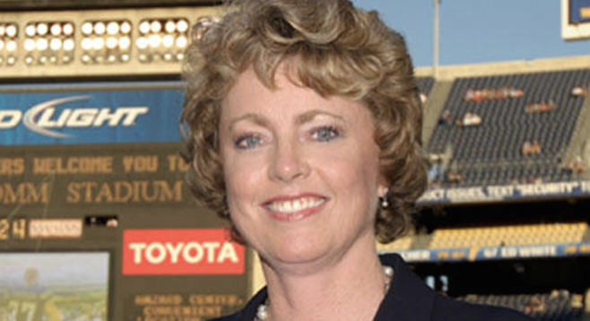 Longtime Chargers executive Jeanne Bonk — currently the team's chief operating officer — is the new LLC's registered agent, according to state records.