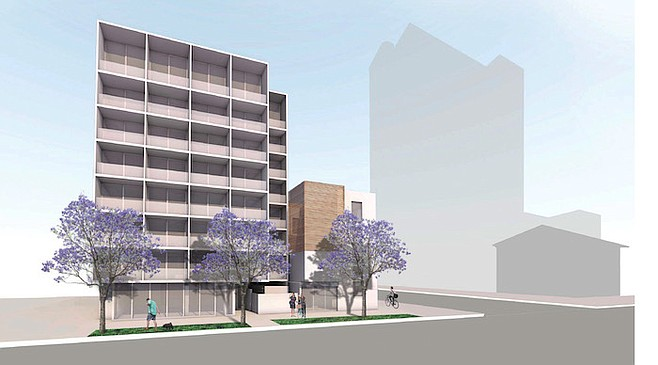 Architect's vision for 320 W. Cedar