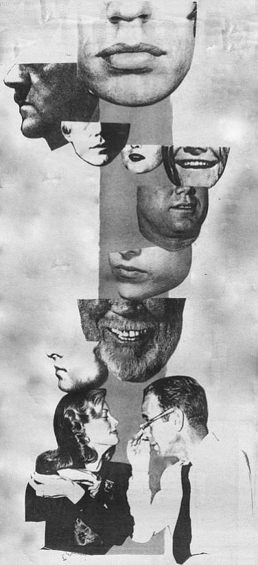 In descending order: Mick Jagger, Adolf Hitler, Andy Warhol, Bette Davis, Janis Joplin, John F. Kennedy, Bob Dylan, John Hutson, Rudolph Valentino, Lauren Bacall and Humphrey Bogart