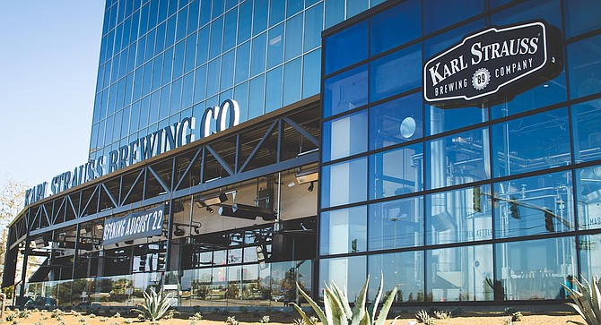 Karl Strauss opened its tenth brewery, this one in Anaheim.