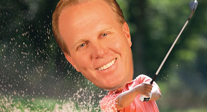 """Mayor Kevin Faulconer's Marin County golf round is about """"relationship-building"""""""