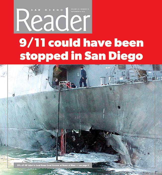 USS Cole after the October 12, 2000, bombing