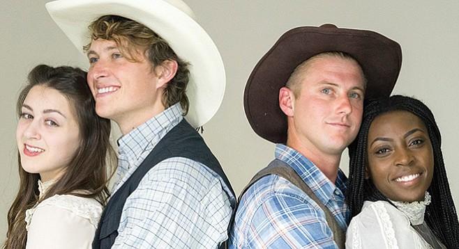 Oklahoma! new village arts cast