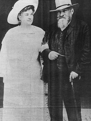 """Schumann-Heink with Brahms. In Here's to Romance (1935) she sang Brahms's """"Wiegenlied."""""""
