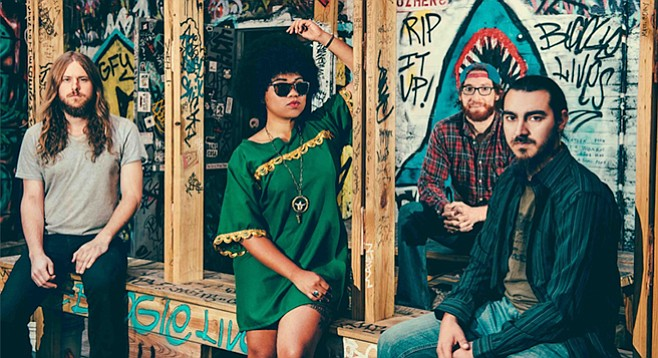 Seratones bond their different (and sometimes antagonistic) influences of punk, alt-rock, and gospel into a thing that sounds like Memphis soul.
