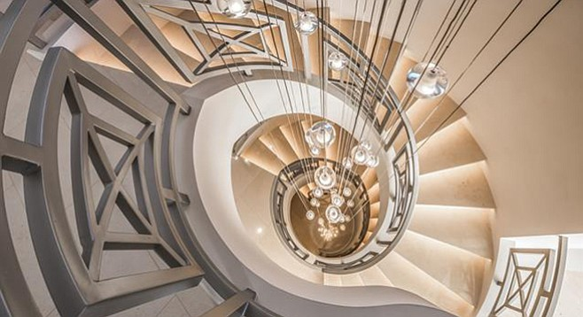 A whirlwind of stairs