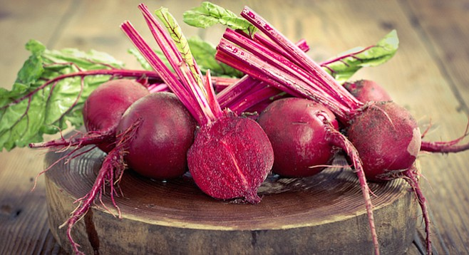 """The beet's sweet earthy flavor marries brilliantly with """"sours"""" — vinegar, citrus, sour cream."""