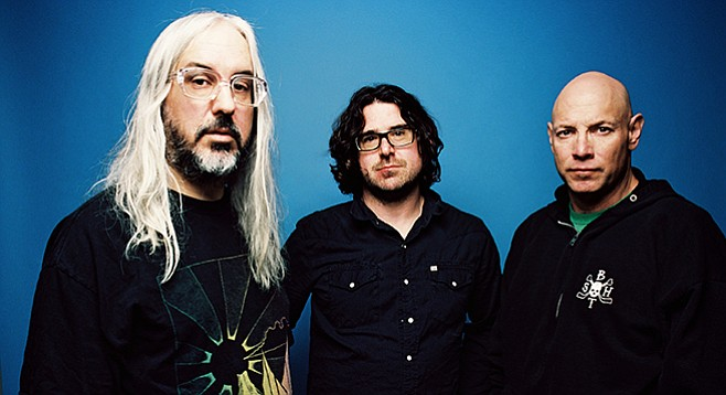 Indie bliss-out at Belly Up when guitar-rock trio Dinosaur Jr. takes the stage on Tuesday!
