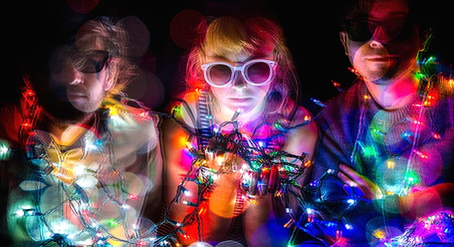 New-age ragers Guerilla Toss take the stage at Soda Bar Thursday night!