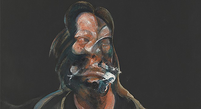 Portrait of Isabel Rawsthorne, by Francis Bacon (1966), oil on canvas