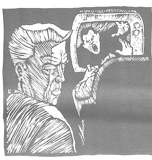 d00e79c7bb13e3 Classmates were amused to see my father do shitty sitcoms. Illustration by  Dale Shimato