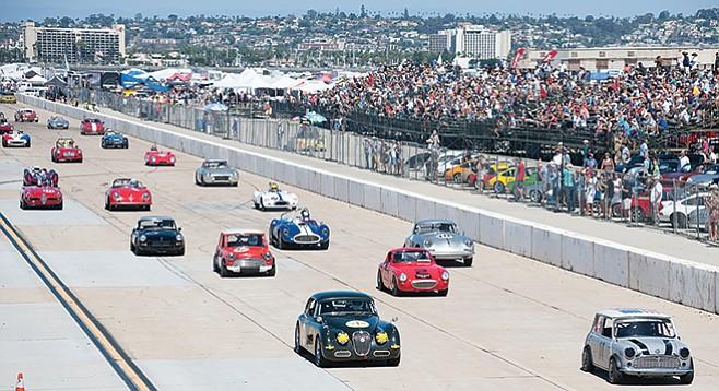 Saturday, September 17: Coronado Speed Festival