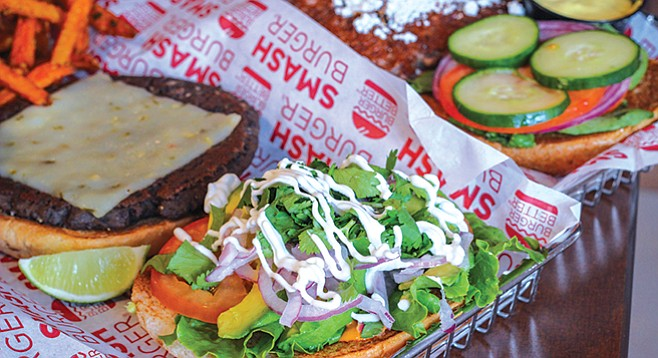 Smashburger's San Diego Burger