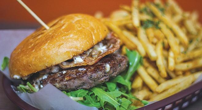 Twist's burger