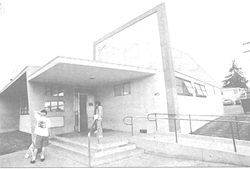 Welfare office at 73rd and El Cajon Blvd, where the scheme was hatched