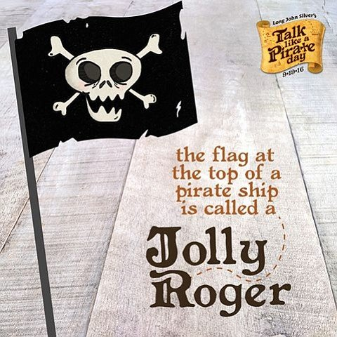 Long John Silver Pirate Day